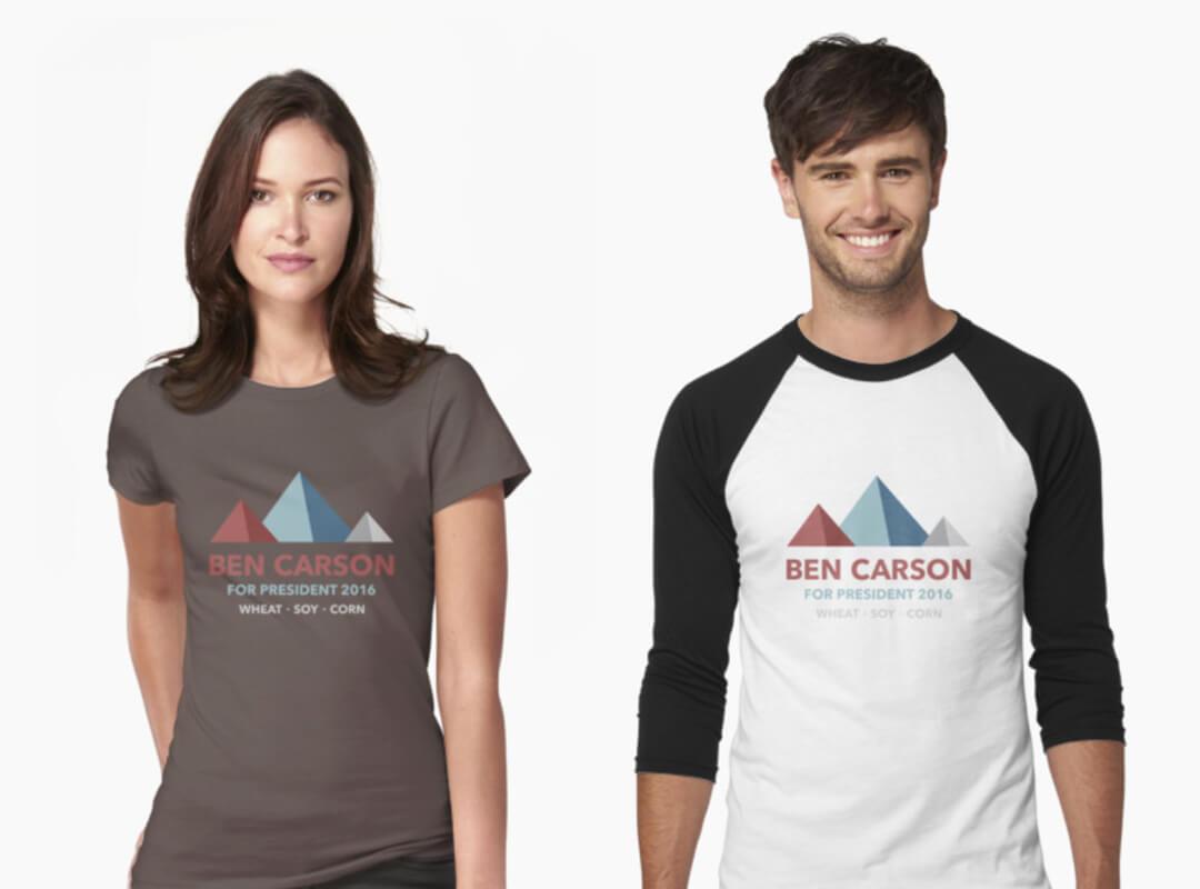 Ben Carson Silos T-shirt