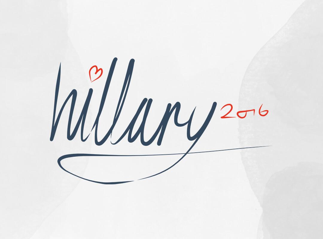 Hillary 2016 Signature