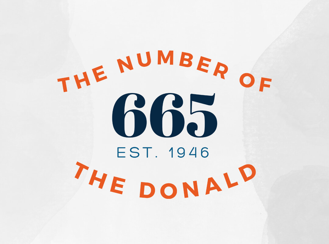 The Number of Trump 665 T-shirts & Stickers