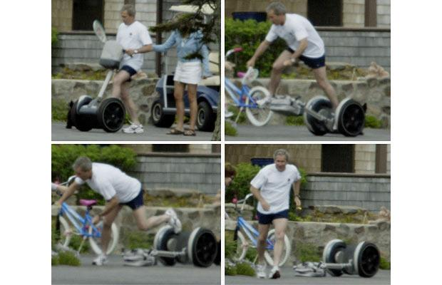 Bush Segway Crash