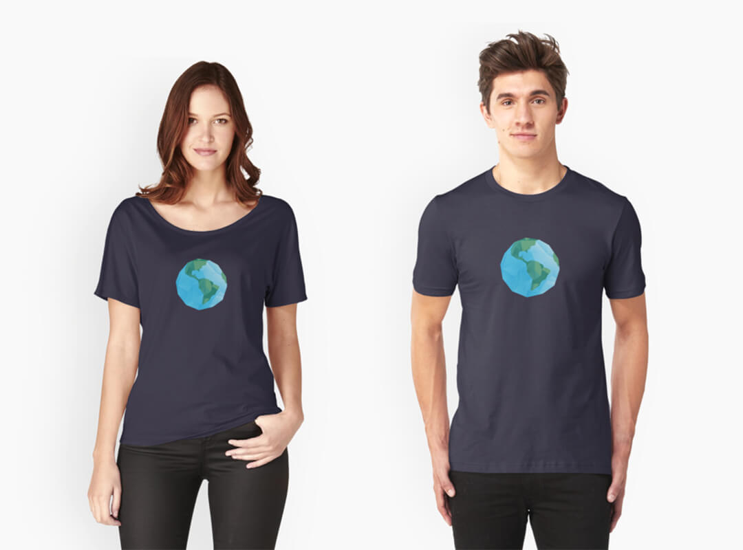 Earth Day t-shirts stickers tote bag