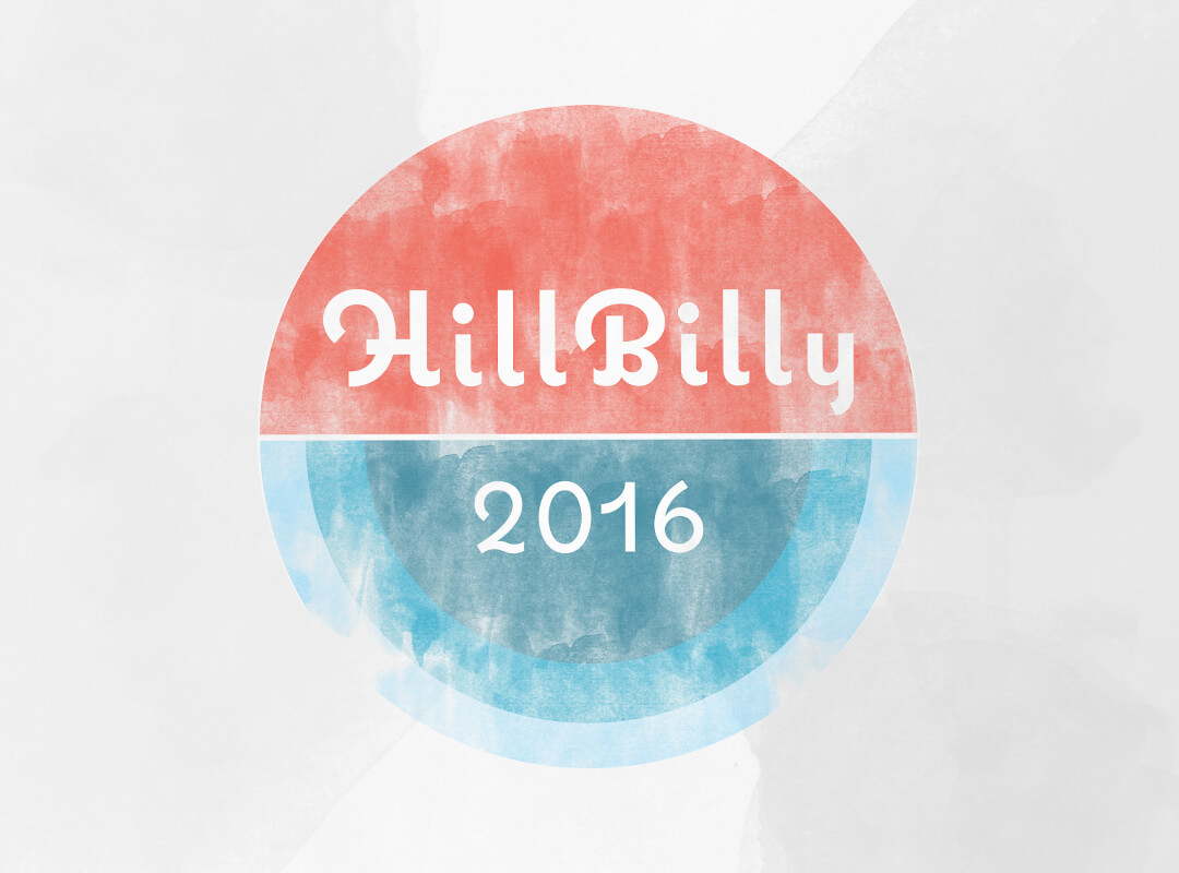 HillBilly 2016 T-shirts, Tote bags and stickers