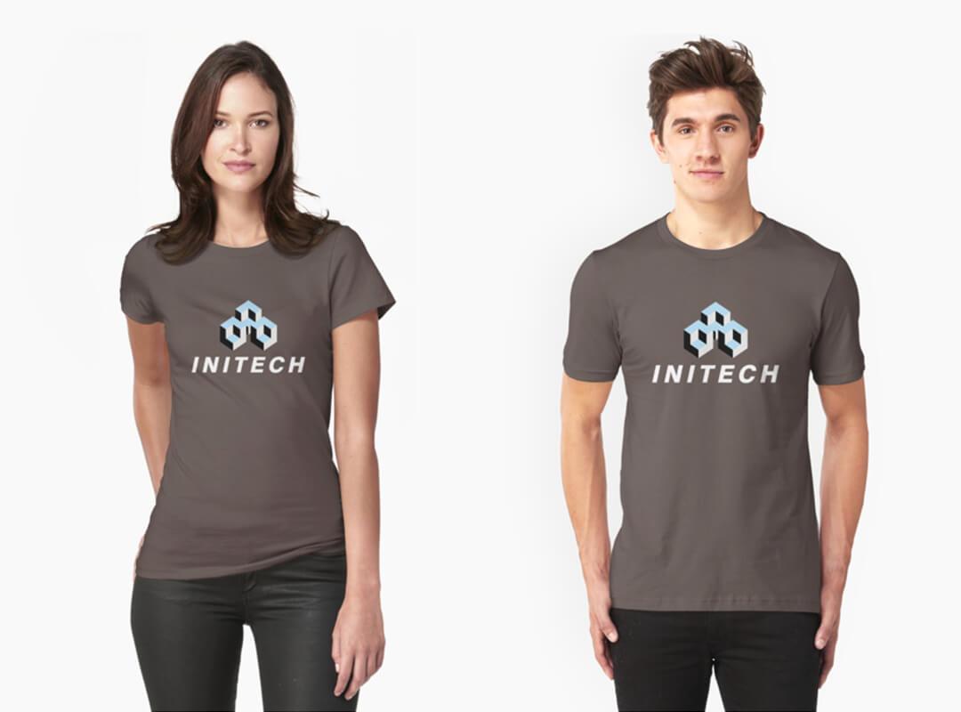 Initech Logo T-shirts
