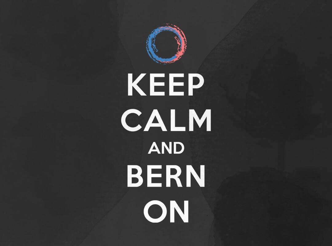 Keep Calm and Bern On T-shirts