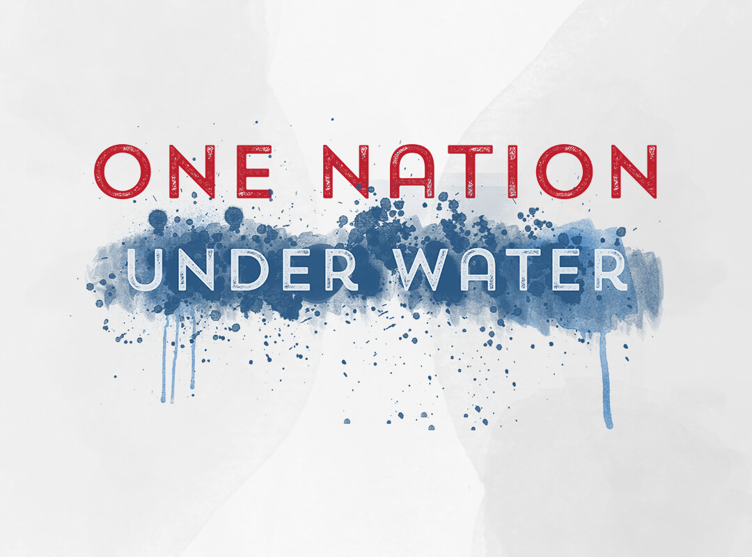 One Nation Under Water - Global Warming t-shirts