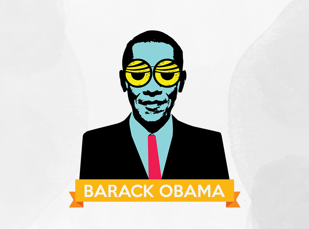 Obama Pop Art T-shirts, Stickers and Tote Bags