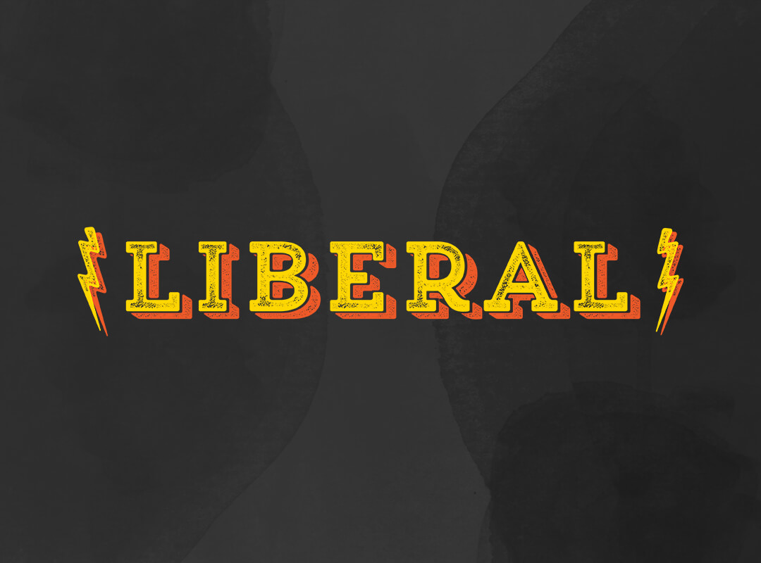 Rock n Roll Liberal T-shirt