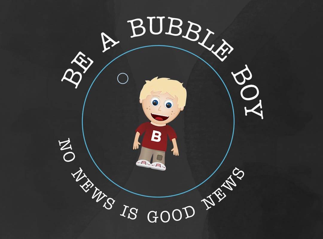 Bubble-Boy T-shirts