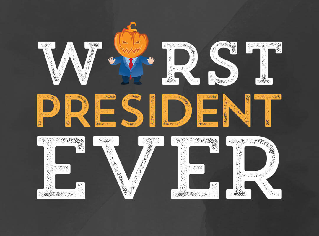 Trump Worst President Ever Anti Trump T-shirts