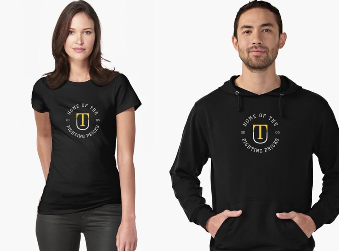 Trump University fighting pricks t-shirts stickers hoodies