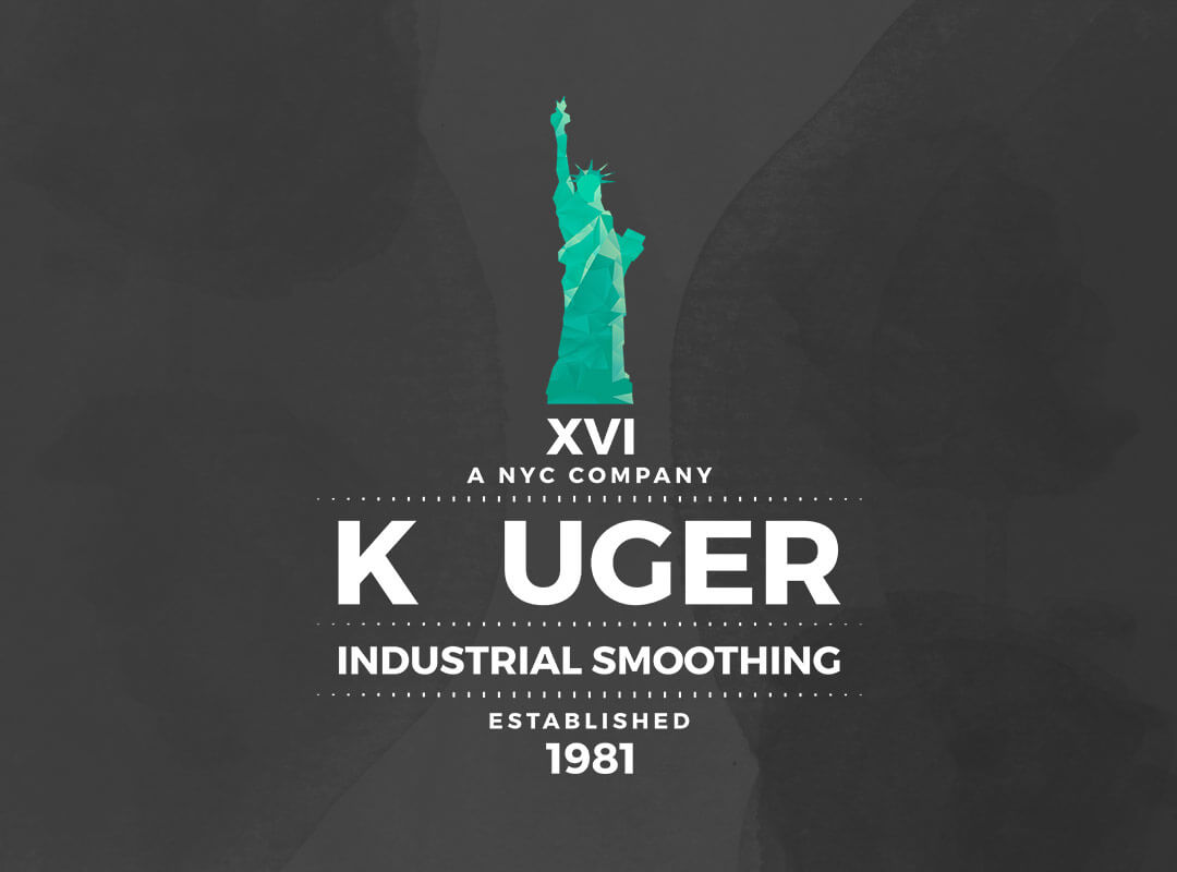 Kruger Industrial Smoothing logo shirts bags posters stickers