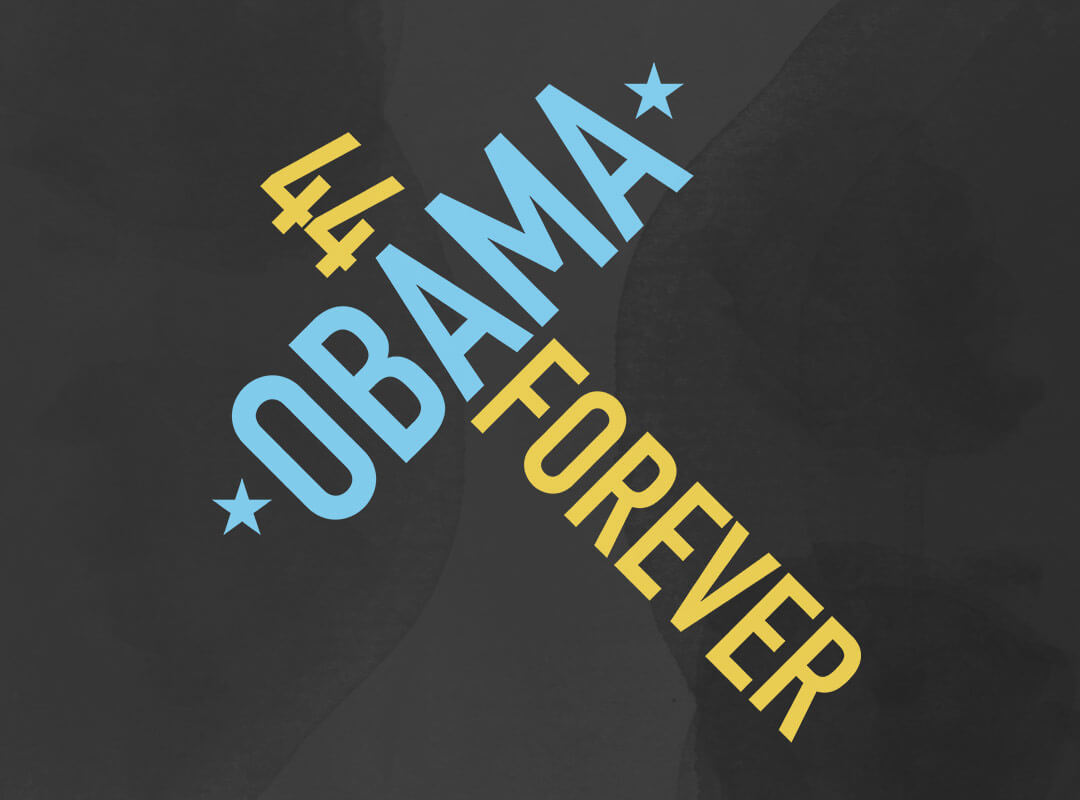 Barack Obama 44 Forever TShirt Stickers