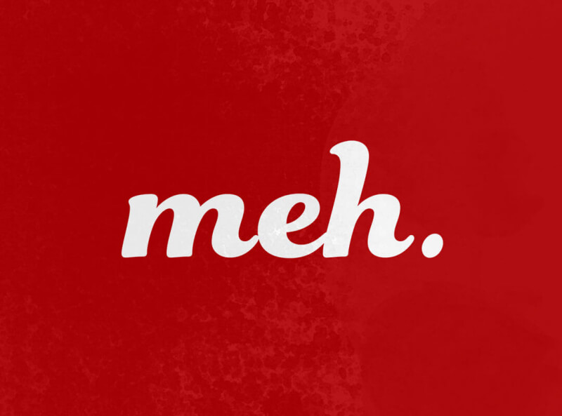 Meh t-shirts