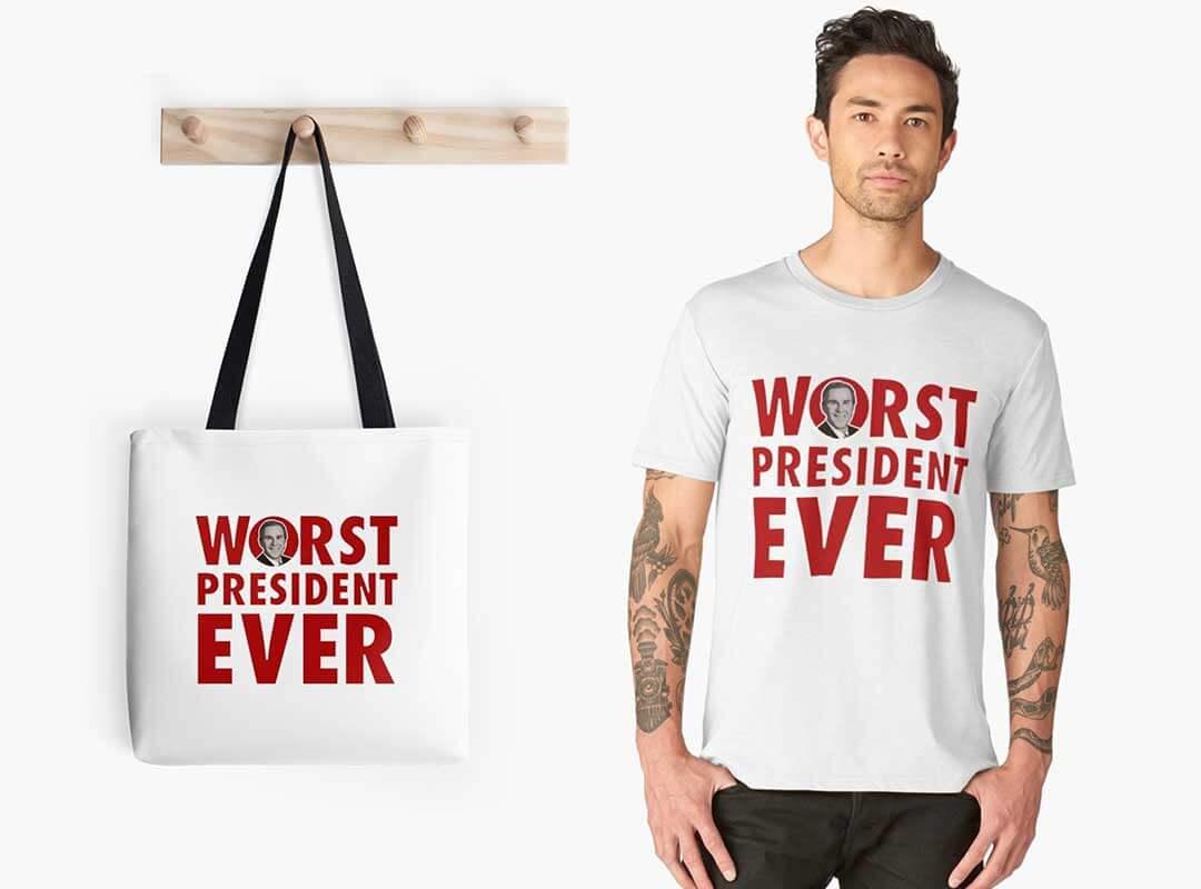 Bush - Worst President Ever Shirts