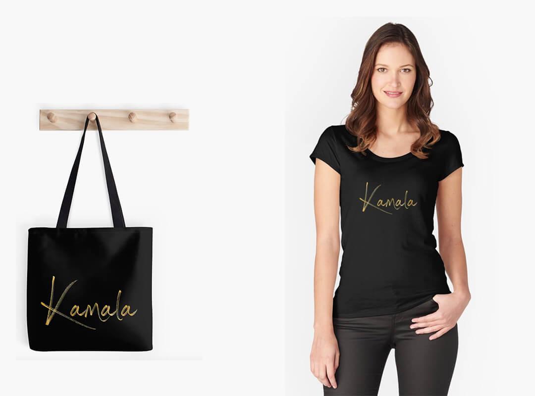 Kamala for president shirt tote