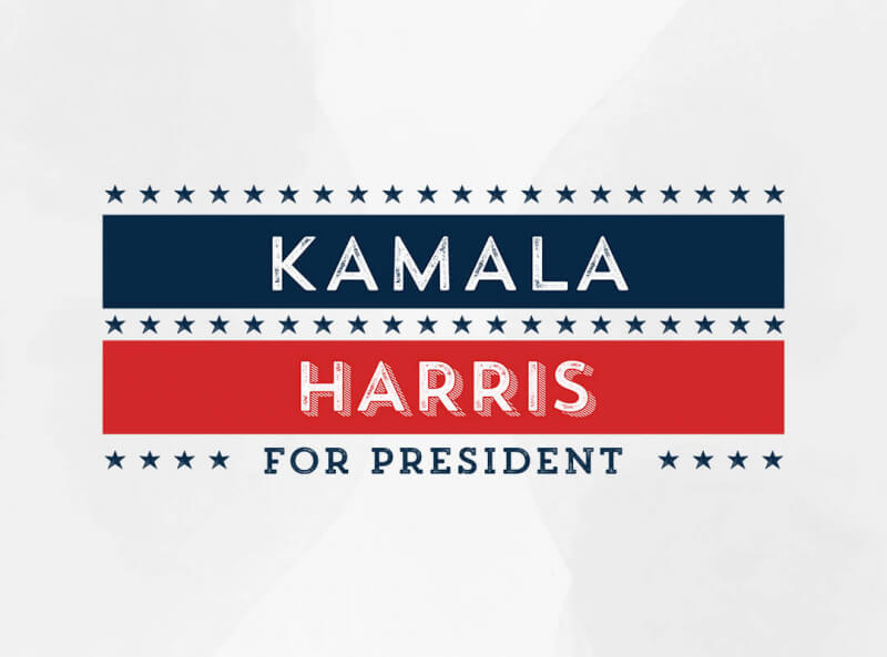 Kamala Harris for President t-shirt