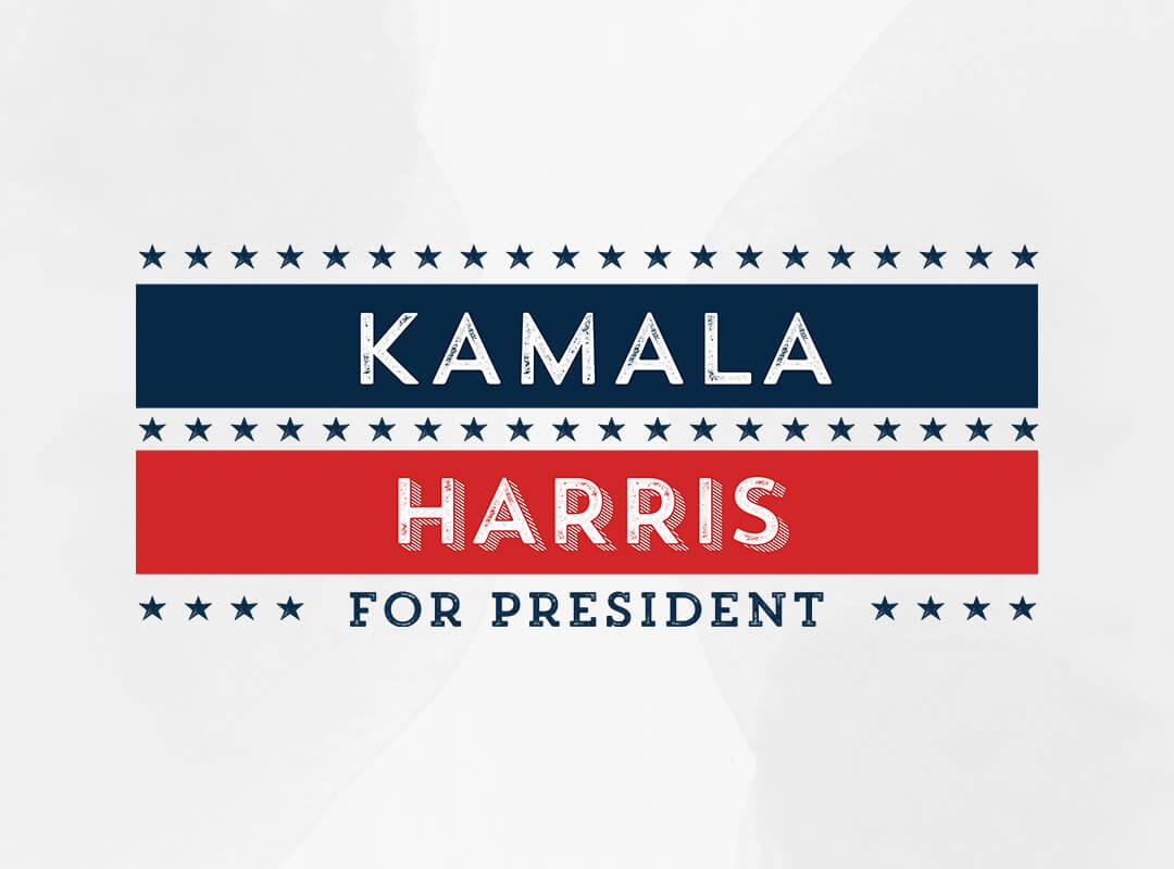 Kamala Harris for President t-shirt